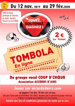 Tombola Coup d'Choeur